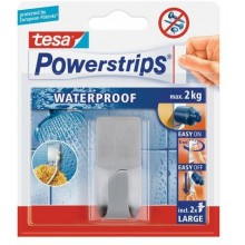 TESA Powerstrips® Waterproof Haken Zoom Metall 59707