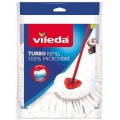VILEDA Easy Wring and Clean Turbo Wischmop Ersatzkopf Classic 134302