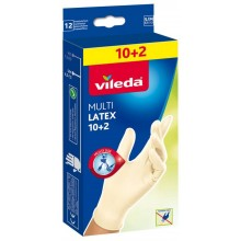 "VILEDA Handschuhe MultiLatex 10+2 ""S/M"" 145964"