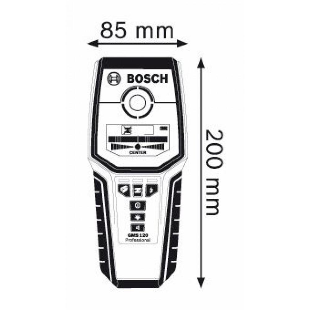 bosch gms 120 ortungsger t 0601081000. Black Bedroom Furniture Sets. Home Design Ideas