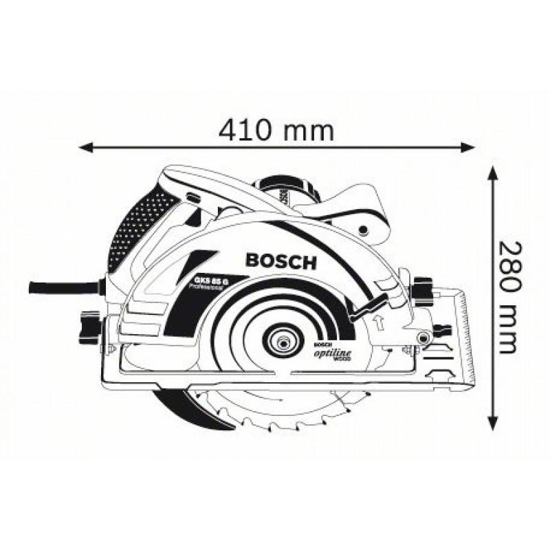 bosch gks 85 g handkreiss ge 2200 w 060157a901. Black Bedroom Furniture Sets. Home Design Ideas