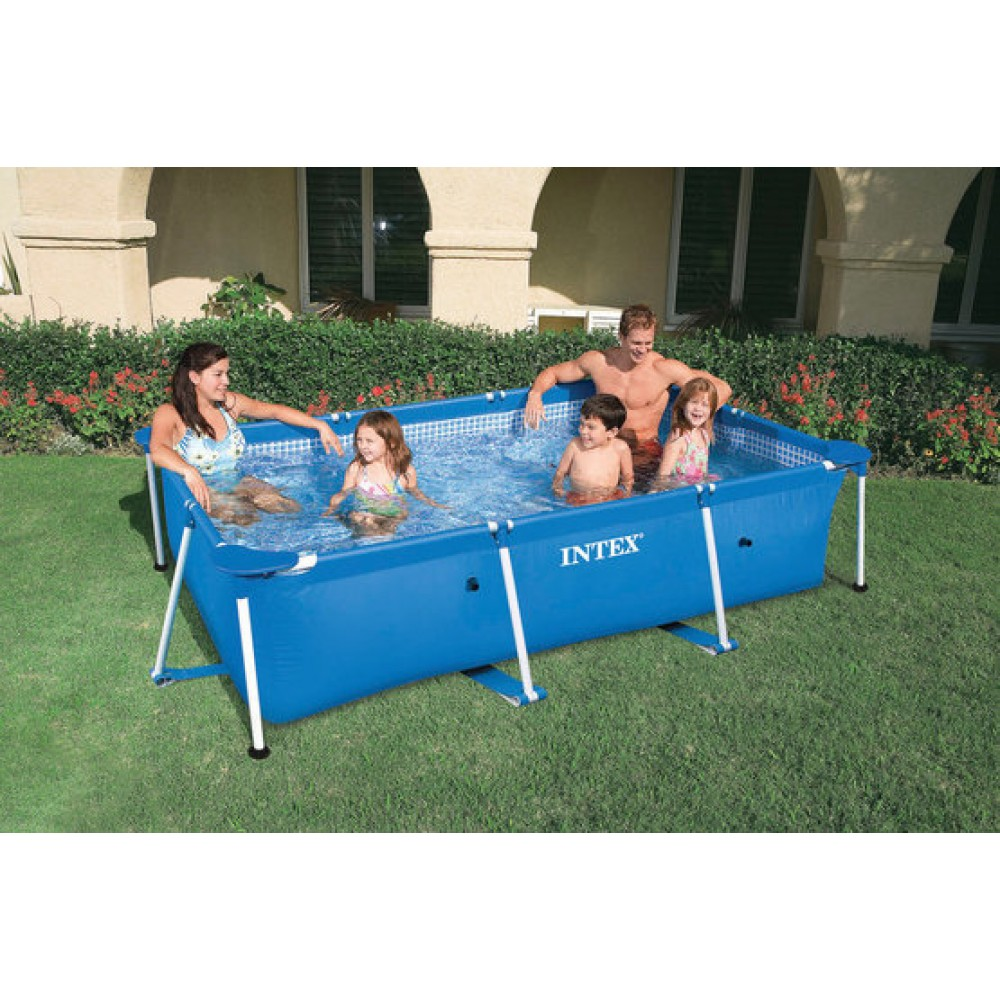 Intex frame pool set family 220 x 150 x 60 cm 28270np for Intex pool 150 cm tief