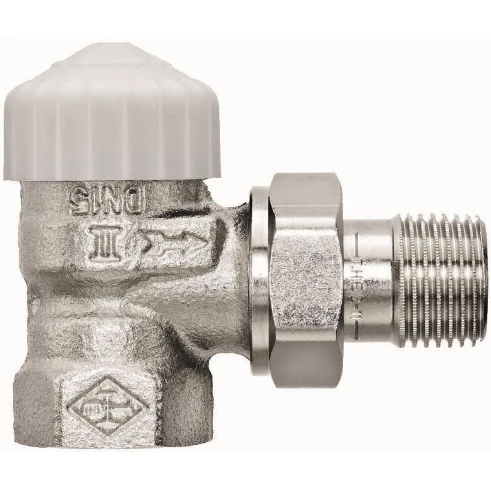 Heimeier thermostatventil eckform 1 2 mit voreinstellung for Heimeier italia