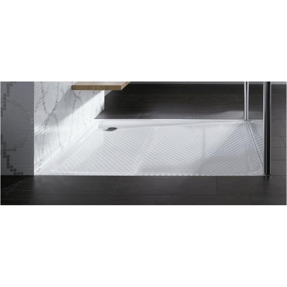 kaldewei superplan xxl 438 1 duschwanne 90 x 130 x 2 5 cm. Black Bedroom Furniture Sets. Home Design Ideas