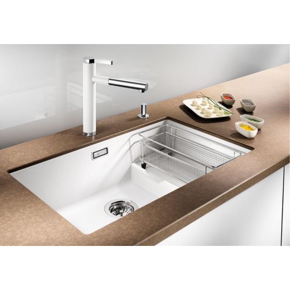 blanco linee s mit schlauchbrause wei 518441. Black Bedroom Furniture Sets. Home Design Ideas
