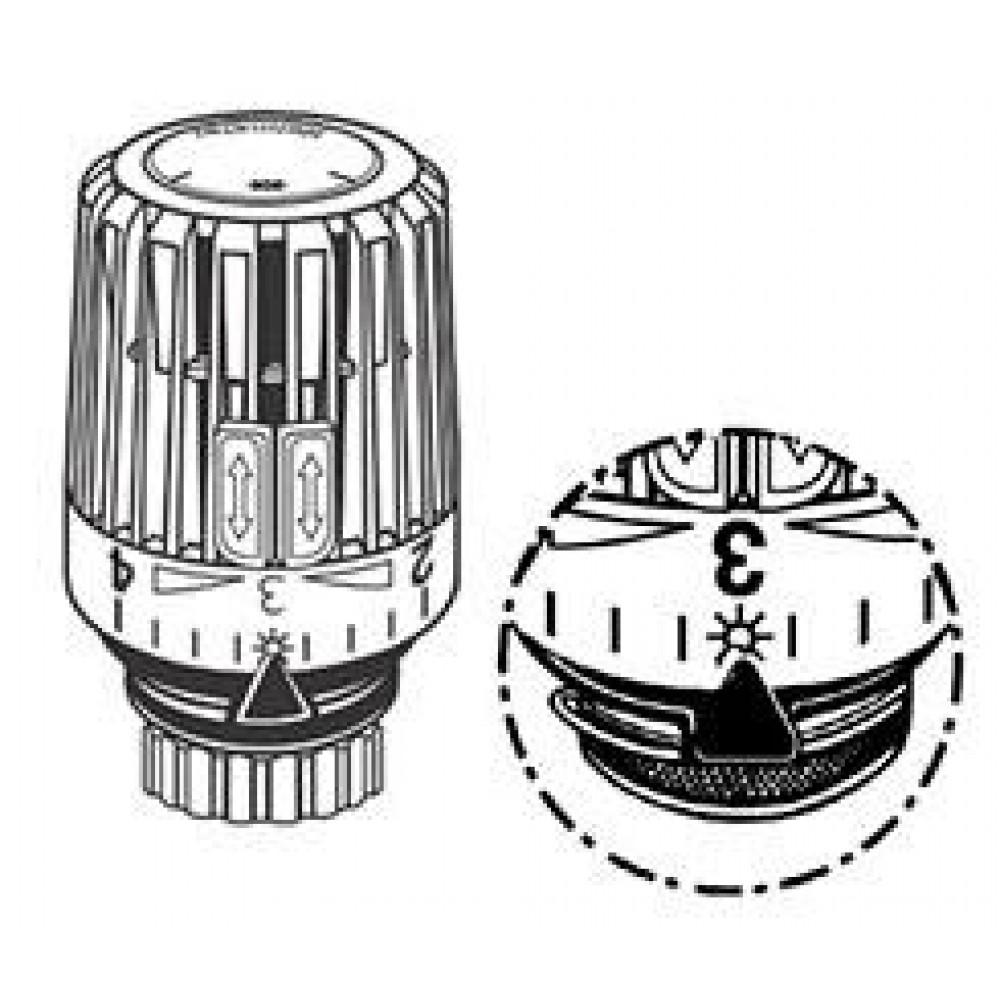 Heimeier thermostat kopf k mit eingebautem f hler 6020 for Heimeier italia