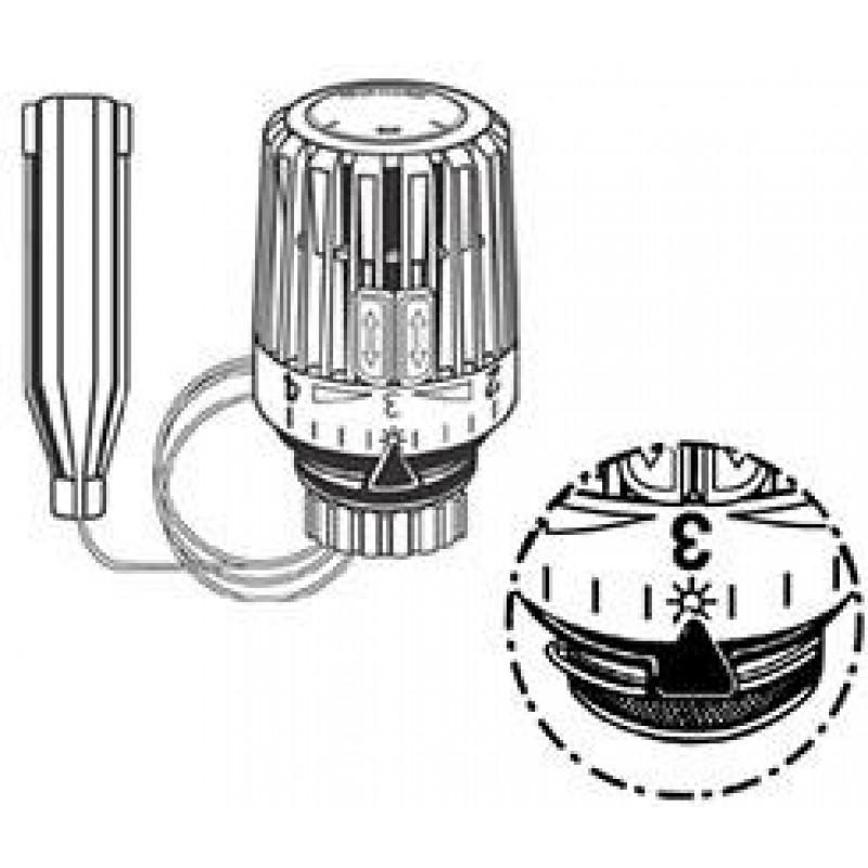 Heimeier thermostat kopf k mit fernf hler 6022 for Heimeier italia