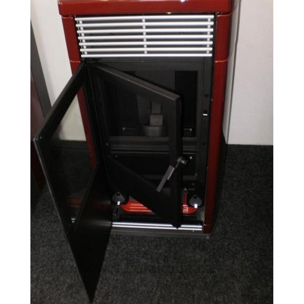 edilkamin idroflexa pellet kaminofen mit w rmetauscher rot 667960. Black Bedroom Furniture Sets. Home Design Ideas