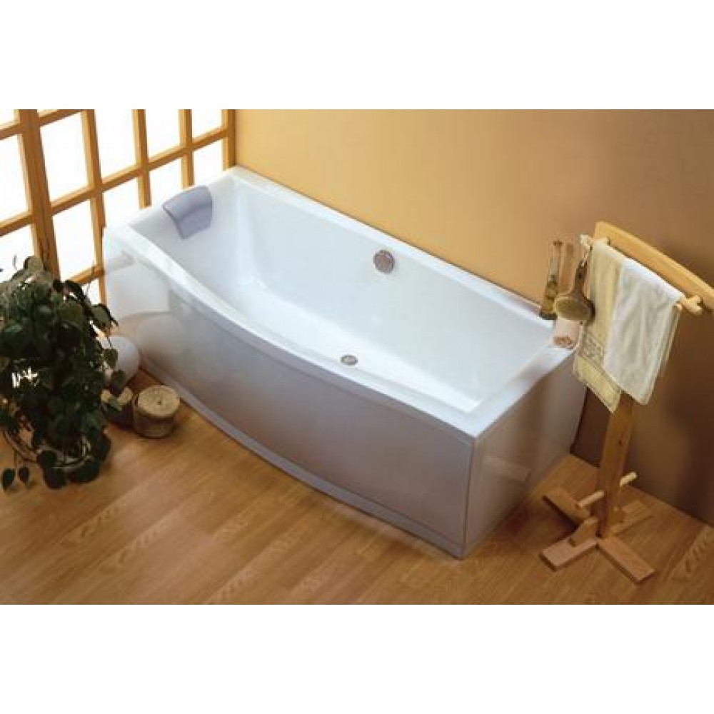 ravak badewanne magnolia 180 x 75 snowhite c601000000. Black Bedroom Furniture Sets. Home Design Ideas
