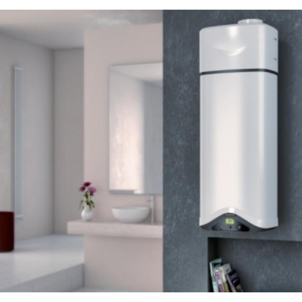 ariston nuos primo 80 wandspeicher mit w rmepumpe druckfester wandspeicher. Black Bedroom Furniture Sets. Home Design Ideas