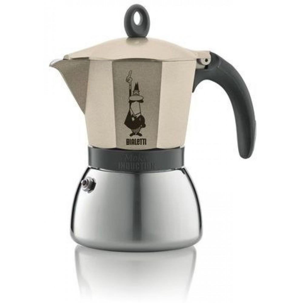 bialetti espressokocher moka induktion 6 tassen 2180199316. Black Bedroom Furniture Sets. Home Design Ideas