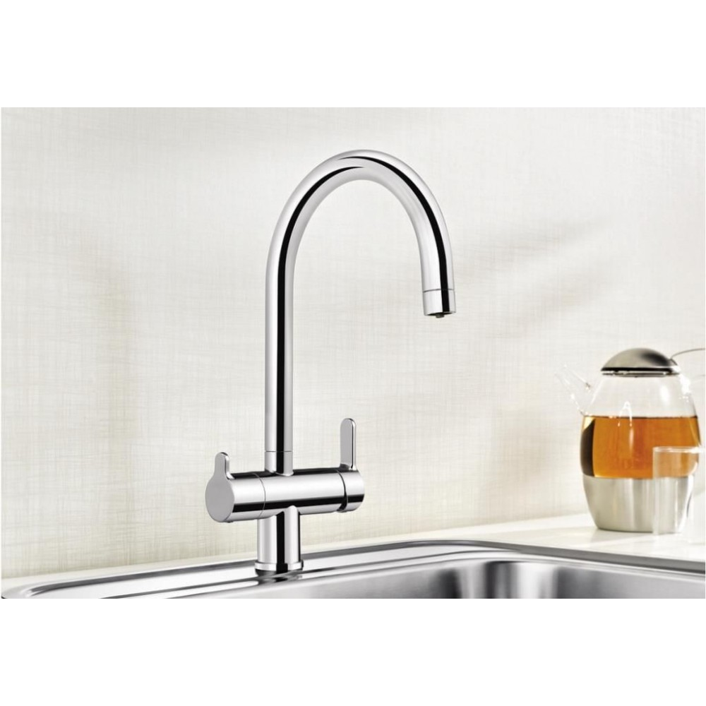 blanco trima filter armatur chrom 520840. Black Bedroom Furniture Sets. Home Design Ideas