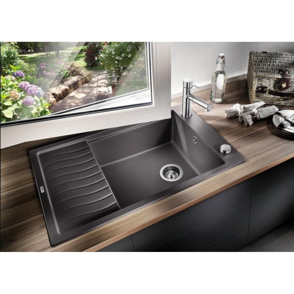 blanco elon xl 6 s einbausp le alumetallic silgranit 518747. Black Bedroom Furniture Sets. Home Design Ideas