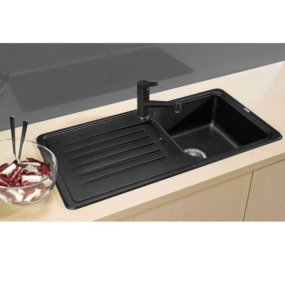 blanco favos silgranit puradur ii sp le anthrazit 516617. Black Bedroom Furniture Sets. Home Design Ideas