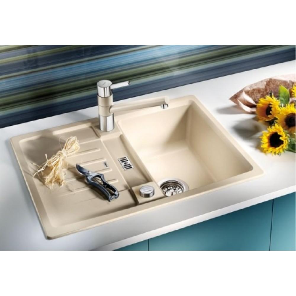 blanco lexa 40 s silgranit granitsp le wei ohne af 518635. Black Bedroom Furniture Sets. Home Design Ideas