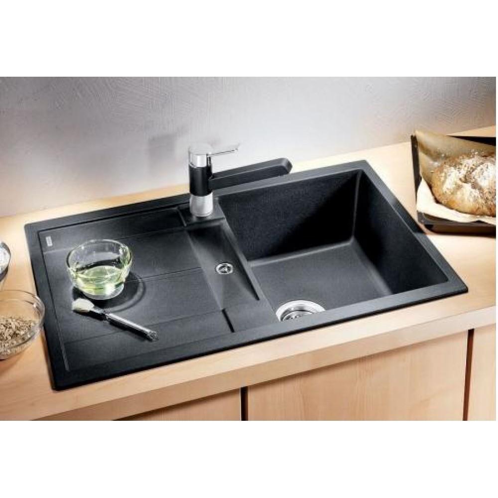 Blanco metra 45 s kuchenspule anthrazit ohne exzenter 513194 for Blanco küchenspüle