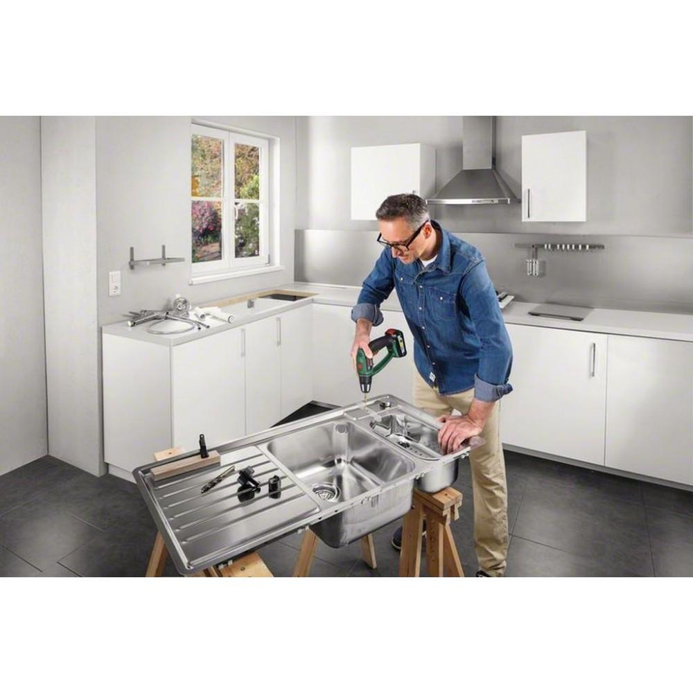 bosch psb 18 li 2 ergonomic akku schlagbohrschrauber 2 akkupacks 06039b0301. Black Bedroom Furniture Sets. Home Design Ideas
