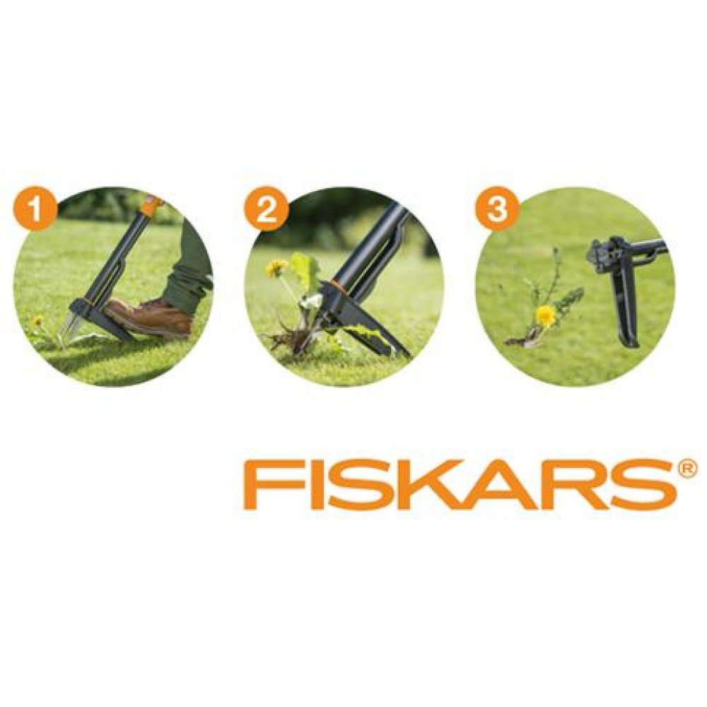 fiskars smartfit teleskop unkrautstecher 139960 1020125. Black Bedroom Furniture Sets. Home Design Ideas