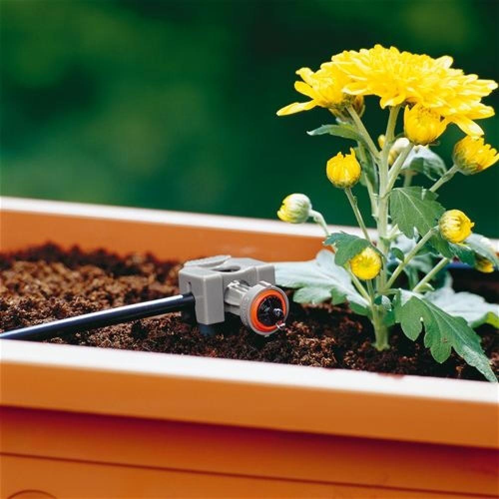 gardena micro drip system rohrf hrung 13 mm 1 3 8328 20. Black Bedroom Furniture Sets. Home Design Ideas
