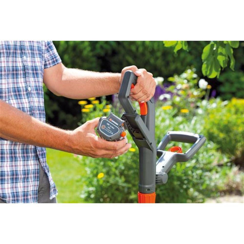 gardena turbotrimmer easycut li 18 23r 9823 20. Black Bedroom Furniture Sets. Home Design Ideas