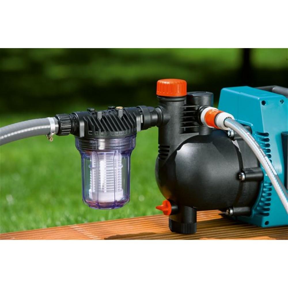 gardena pumpen vorfilter 3000 l h wasserdurchlass 1731 20. Black Bedroom Furniture Sets. Home Design Ideas