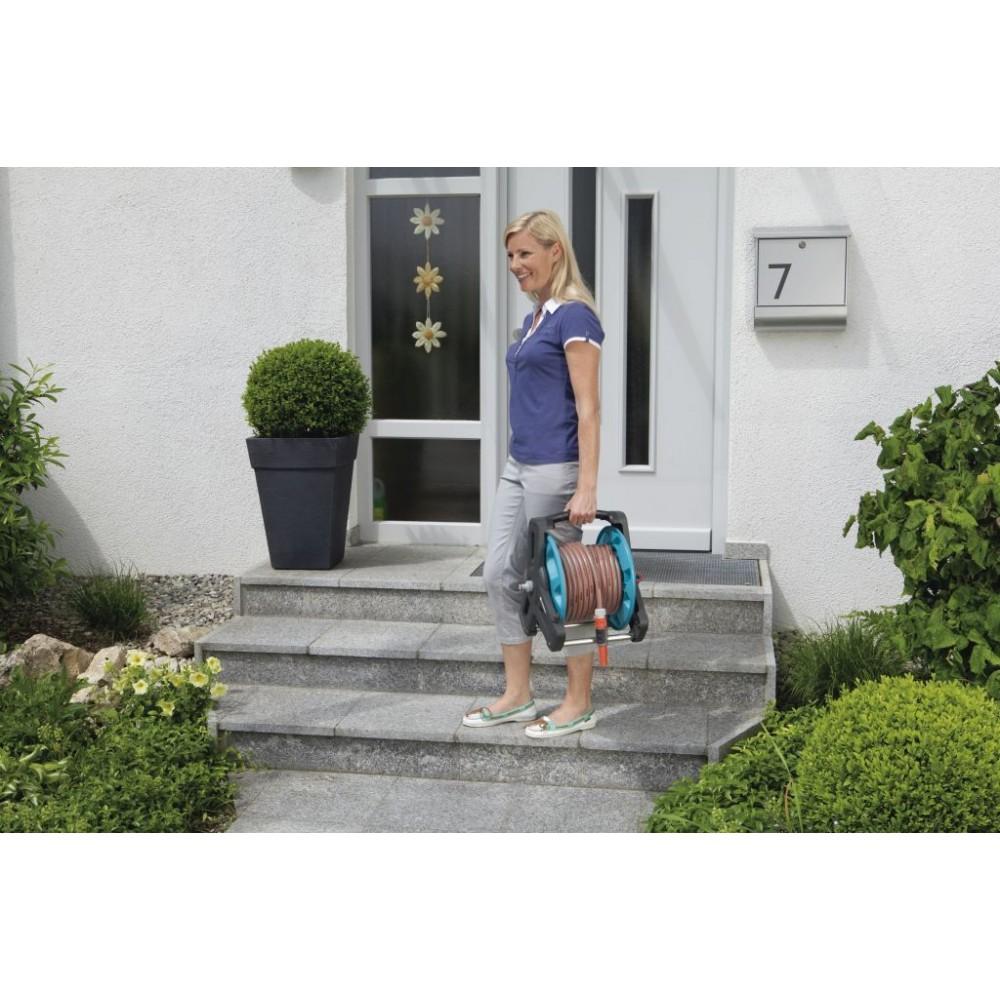 gardena wandschlauchtrommel 50 classic set 8009 20. Black Bedroom Furniture Sets. Home Design Ideas