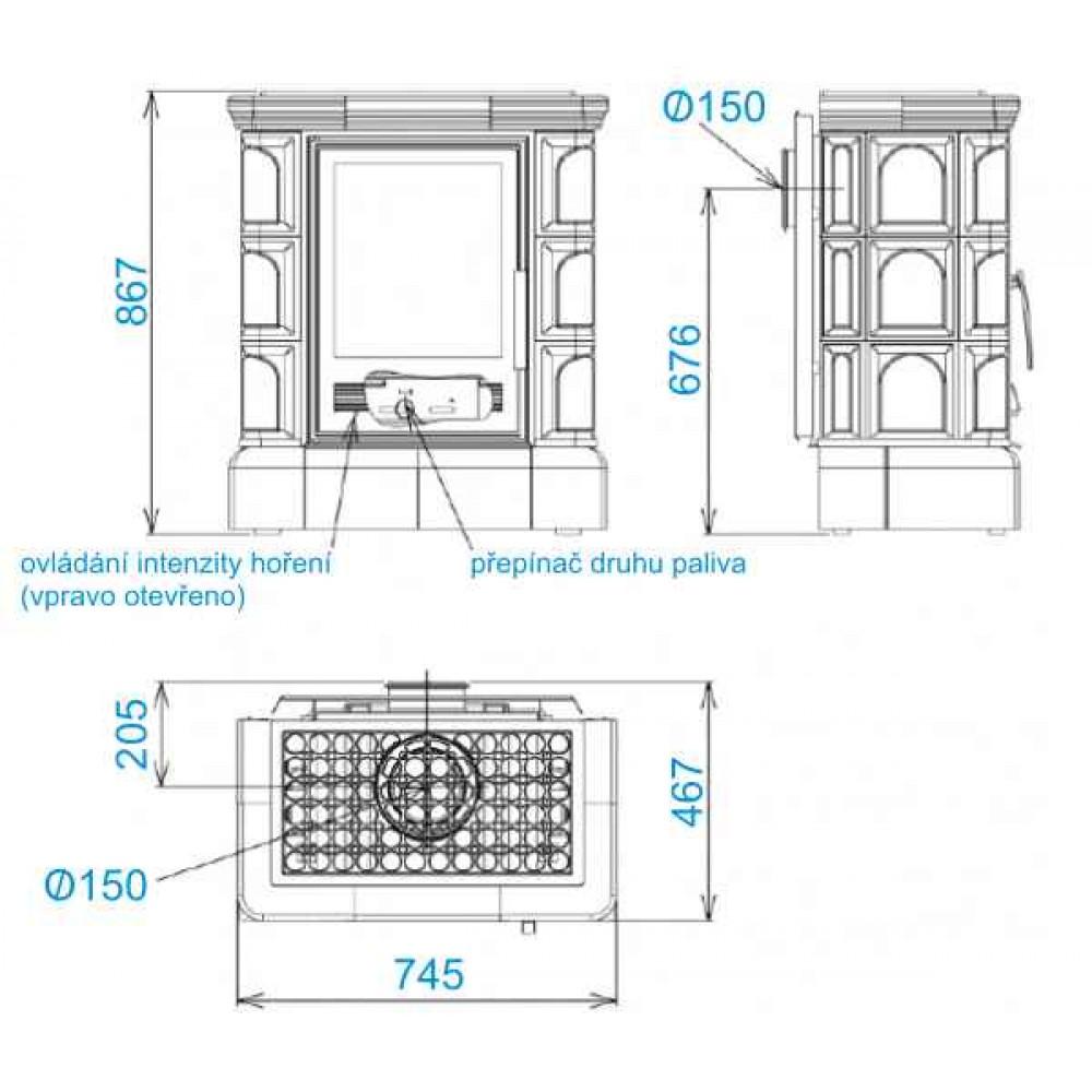 abx iberia k kachelofen mit kombi einsatz kacheln sockel tabak. Black Bedroom Furniture Sets. Home Design Ideas