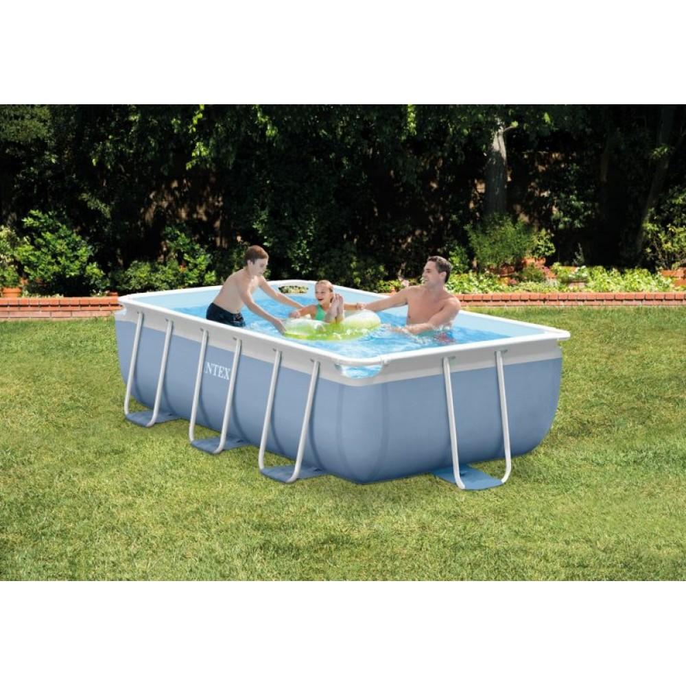 intex prism frame pool 300 x 175 x 80 cm set 26772gn. Black Bedroom Furniture Sets. Home Design Ideas