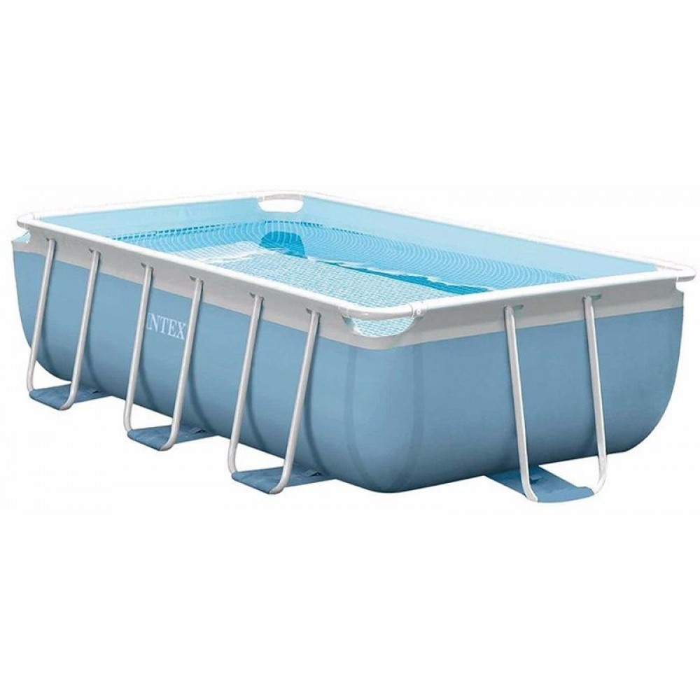 Intex prism frame pool 300 x 175 x 80 cm set 26772gn for Pool stahlwandbecken rechteckig