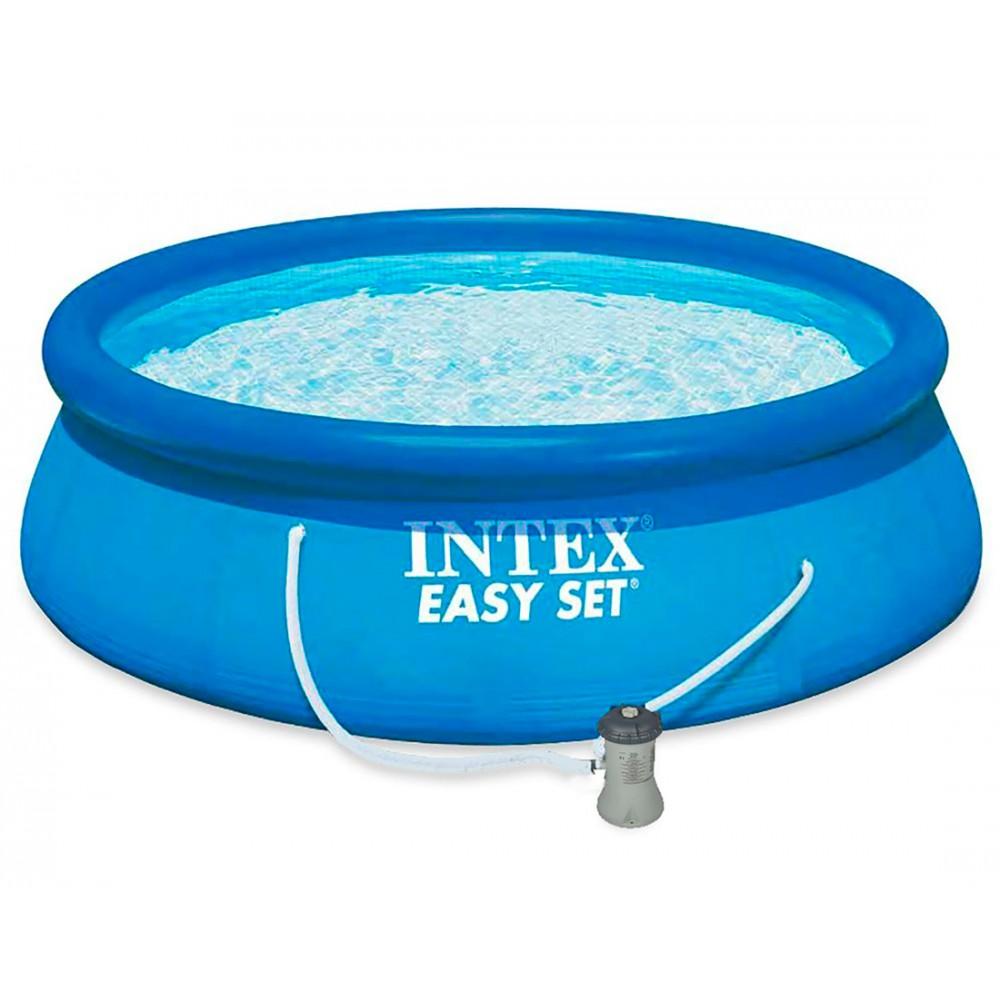 intex easy set pool 396x84 28142np. Black Bedroom Furniture Sets. Home Design Ideas