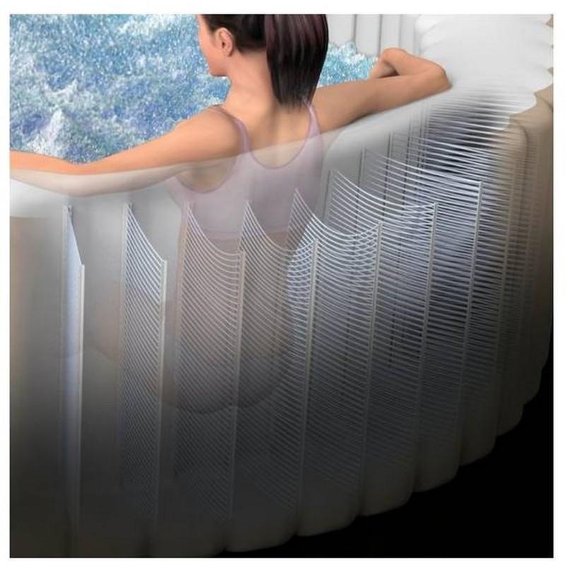 intex whirlpool jet bubble spa deluxe octagon salzwassersystem f r 6 personen 28456. Black Bedroom Furniture Sets. Home Design Ideas
