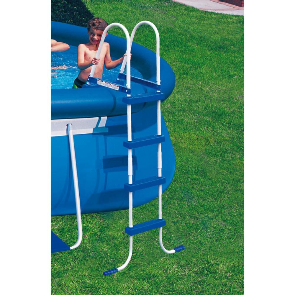 intex oval frame pool set 610 x 366 x 122 cm 28194gn. Black Bedroom Furniture Sets. Home Design Ideas