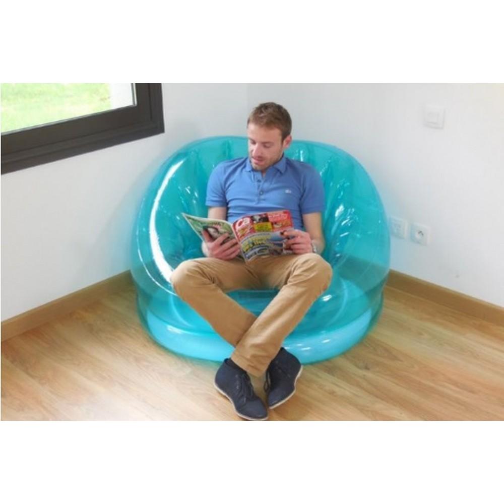 intex cosmo aufblasbarer sessel blau 68594. Black Bedroom Furniture Sets. Home Design Ideas