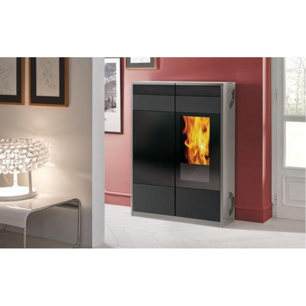 edilkamin kelly pellet kaminofen d nn bordeaux 656090. Black Bedroom Furniture Sets. Home Design Ideas