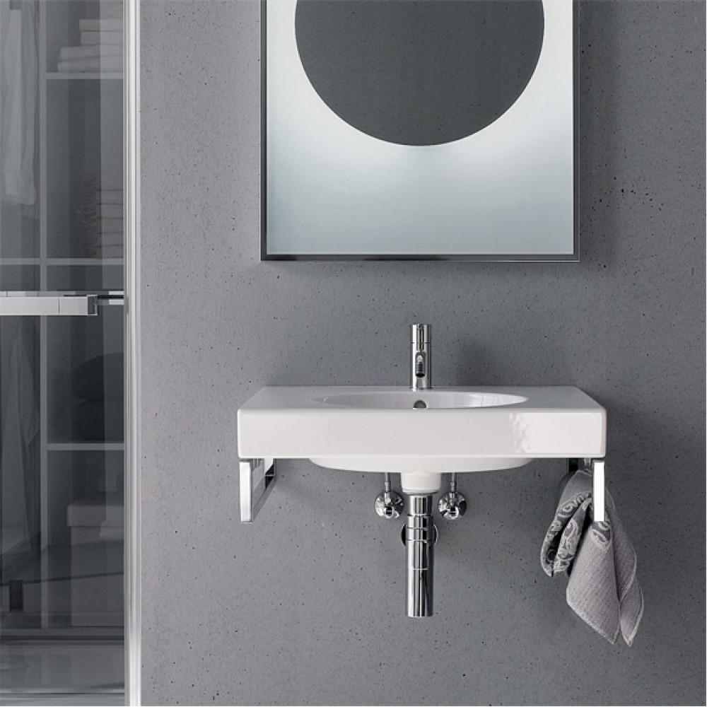 keramag preciosa 2 waschtisch 60 cm 123260000. Black Bedroom Furniture Sets. Home Design Ideas