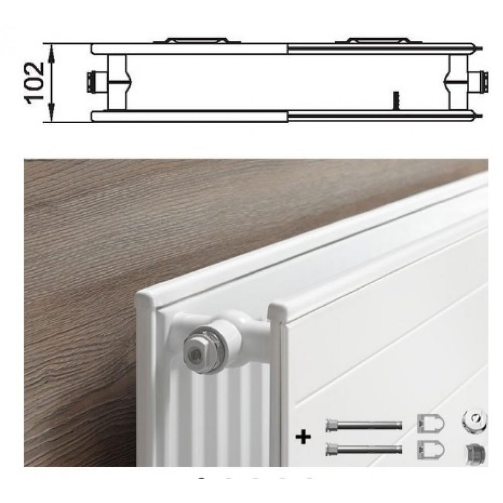 kermi therm x2 line kompakthygieneheizk rper typ 20 605 505 plk200600501n1k. Black Bedroom Furniture Sets. Home Design Ideas