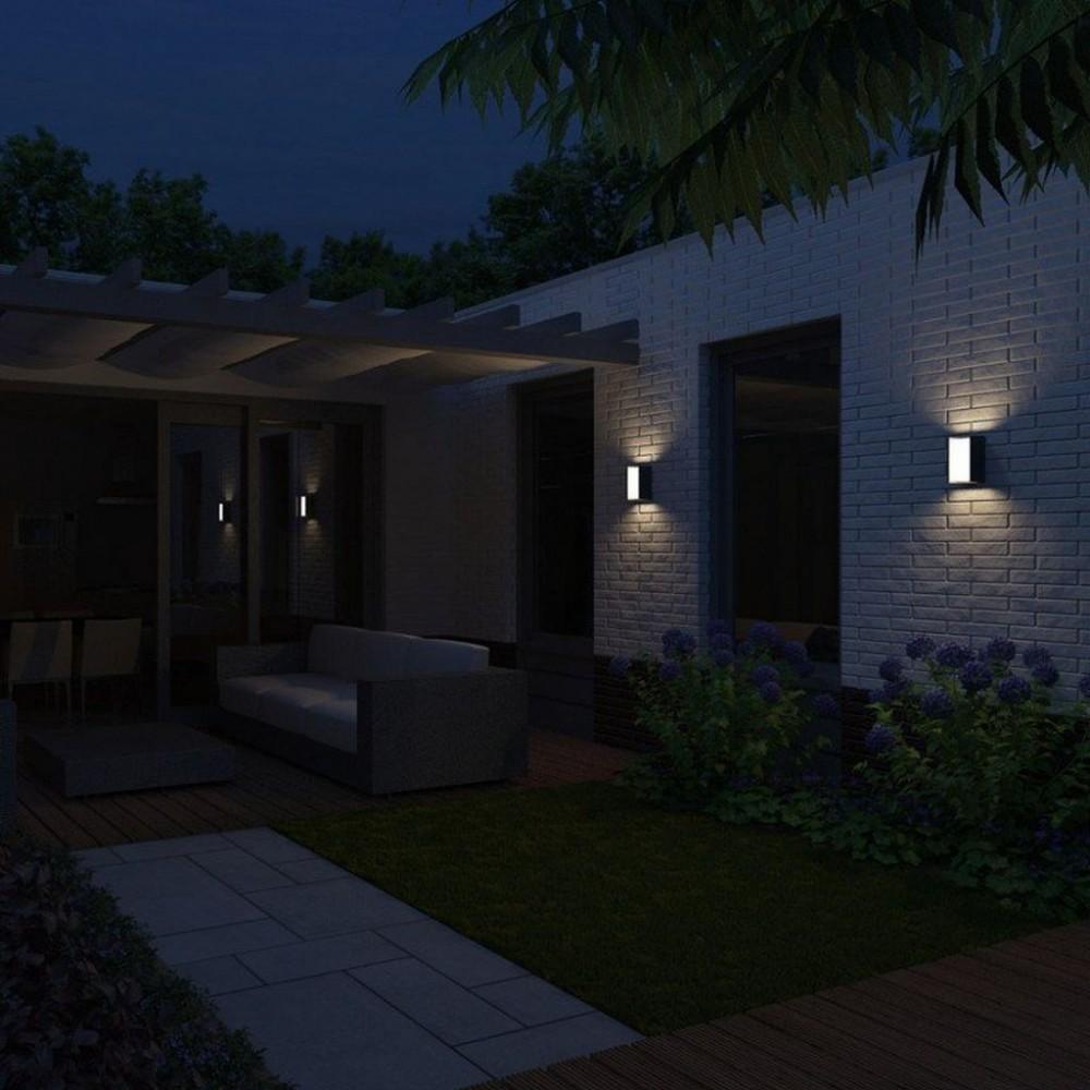 philips mygarden wandleuchte bridge 16351 93 16. Black Bedroom Furniture Sets. Home Design Ideas