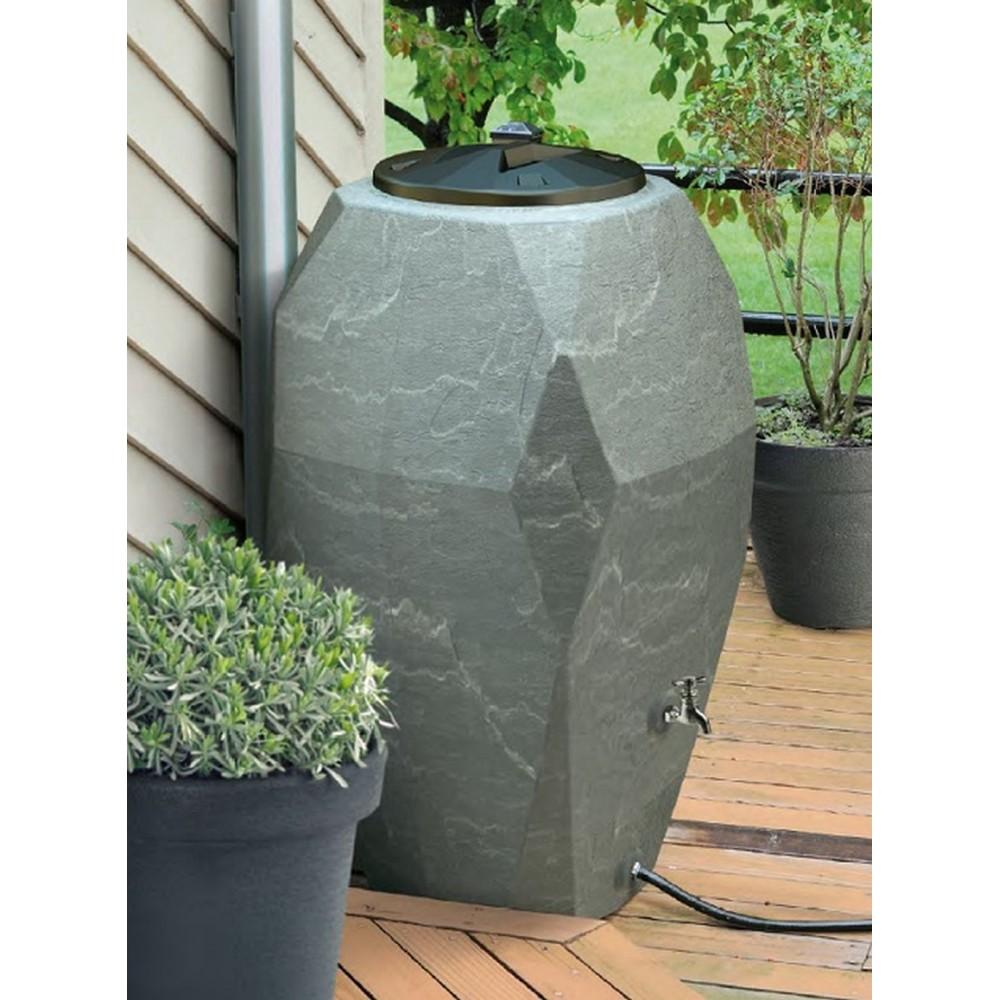 canyon regenwassertonne wassertank 310 l granitgrau ion310. Black Bedroom Furniture Sets. Home Design Ideas