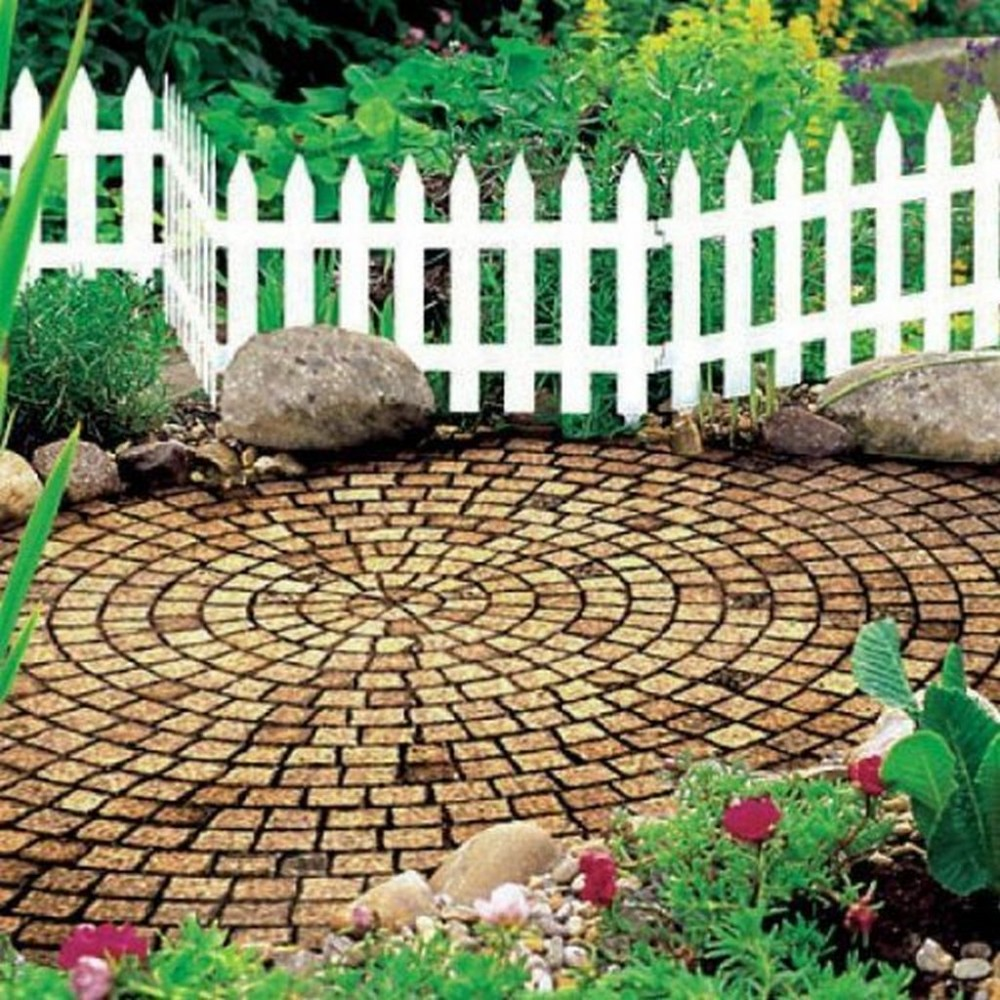 Prosperplast garden classic gartenzaun 3 2m braun iplsu - Flexibler gartenzaun ...