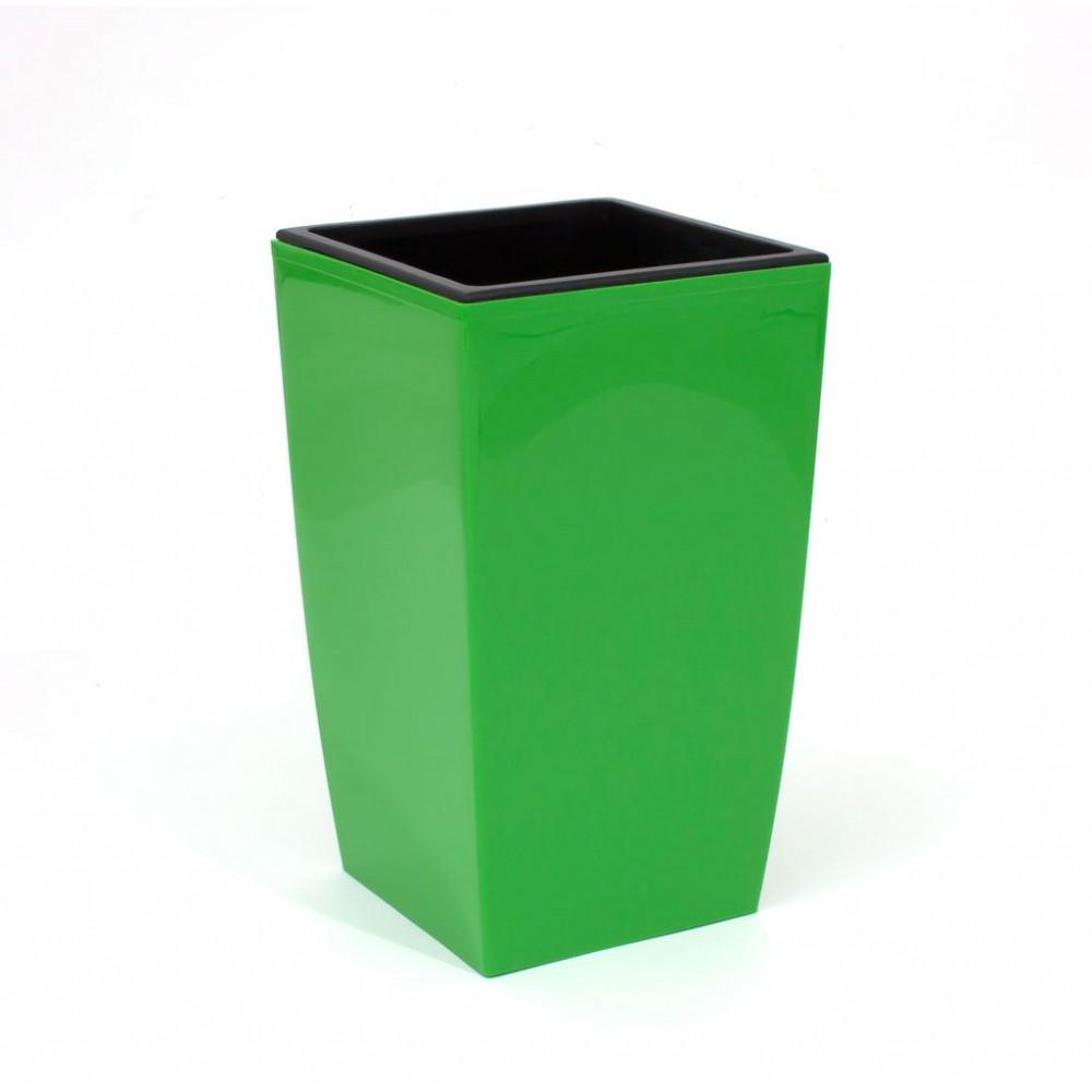 pflanzk bel coubi blumentopf pflanzbeh lter mit einsatz viereckig 2l hell gr n duw120. Black Bedroom Furniture Sets. Home Design Ideas