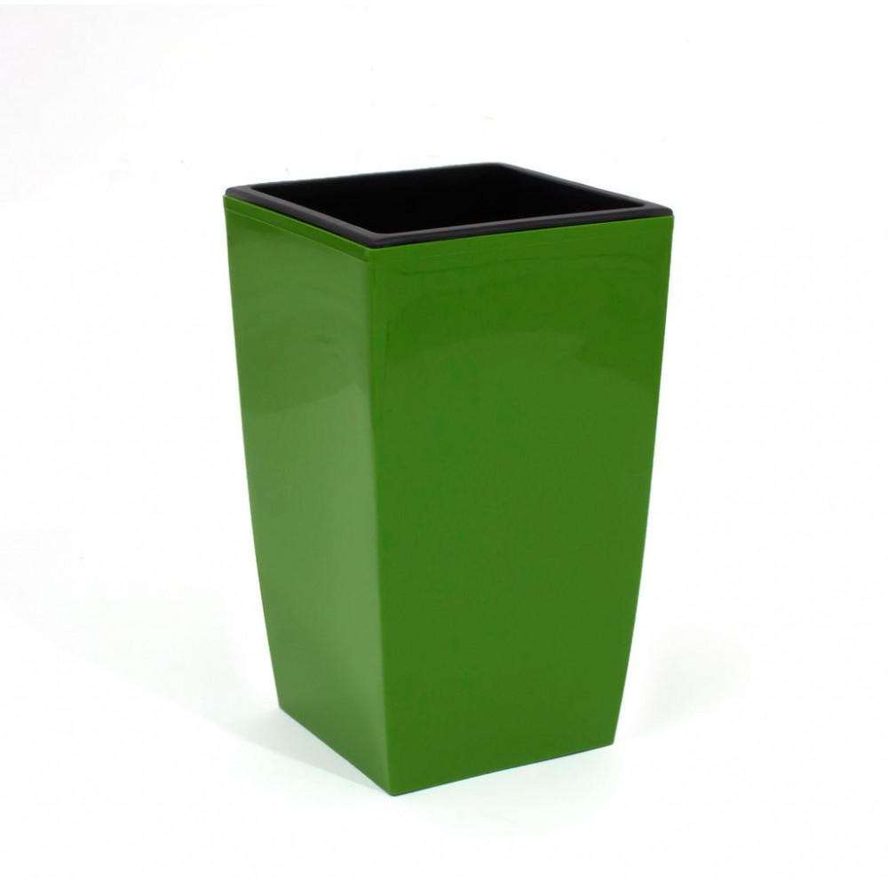 pflanzk bel coubi blumentopf pflanzbeh lter mit einsatz viereckig 2l gr n duw120. Black Bedroom Furniture Sets. Home Design Ideas