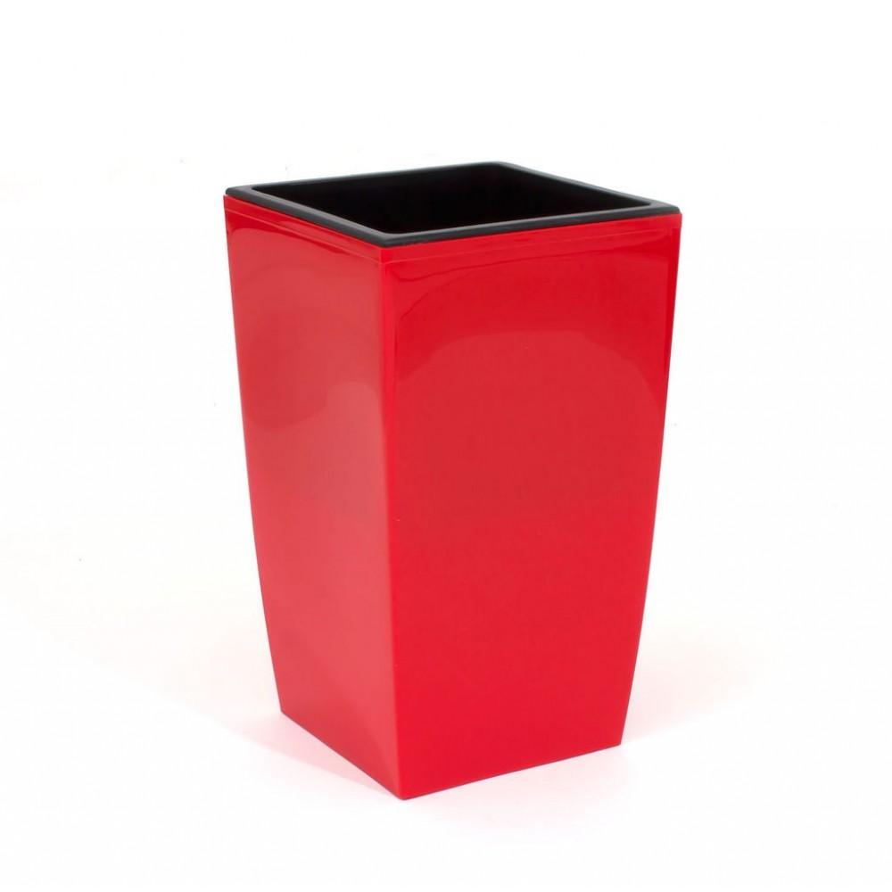 pflanzk bel coubi blumentopf pflanzbeh lter mit einsatz viereckig 2l koralle duw120. Black Bedroom Furniture Sets. Home Design Ideas