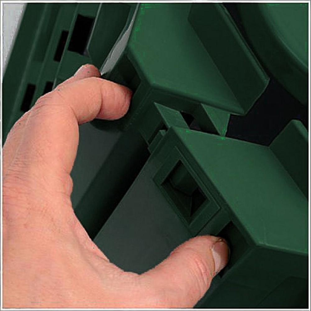 prosperplast komposter evogreen 600 l gr n ikst600z. Black Bedroom Furniture Sets. Home Design Ideas