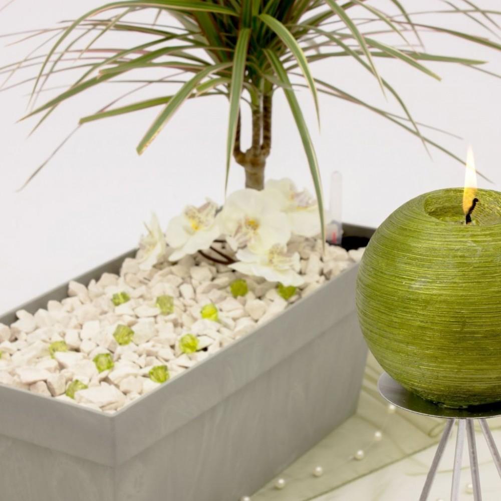 prosperplast cube case blumenkasten balkonkasten 8l grau optik beton dcuc400. Black Bedroom Furniture Sets. Home Design Ideas