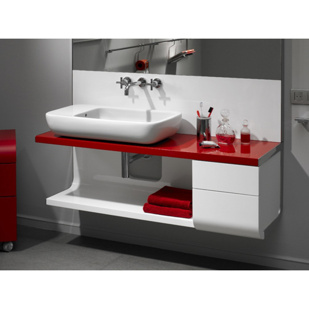 roca khroma waschbecken 40x40 cm 7327654000. Black Bedroom Furniture Sets. Home Design Ideas