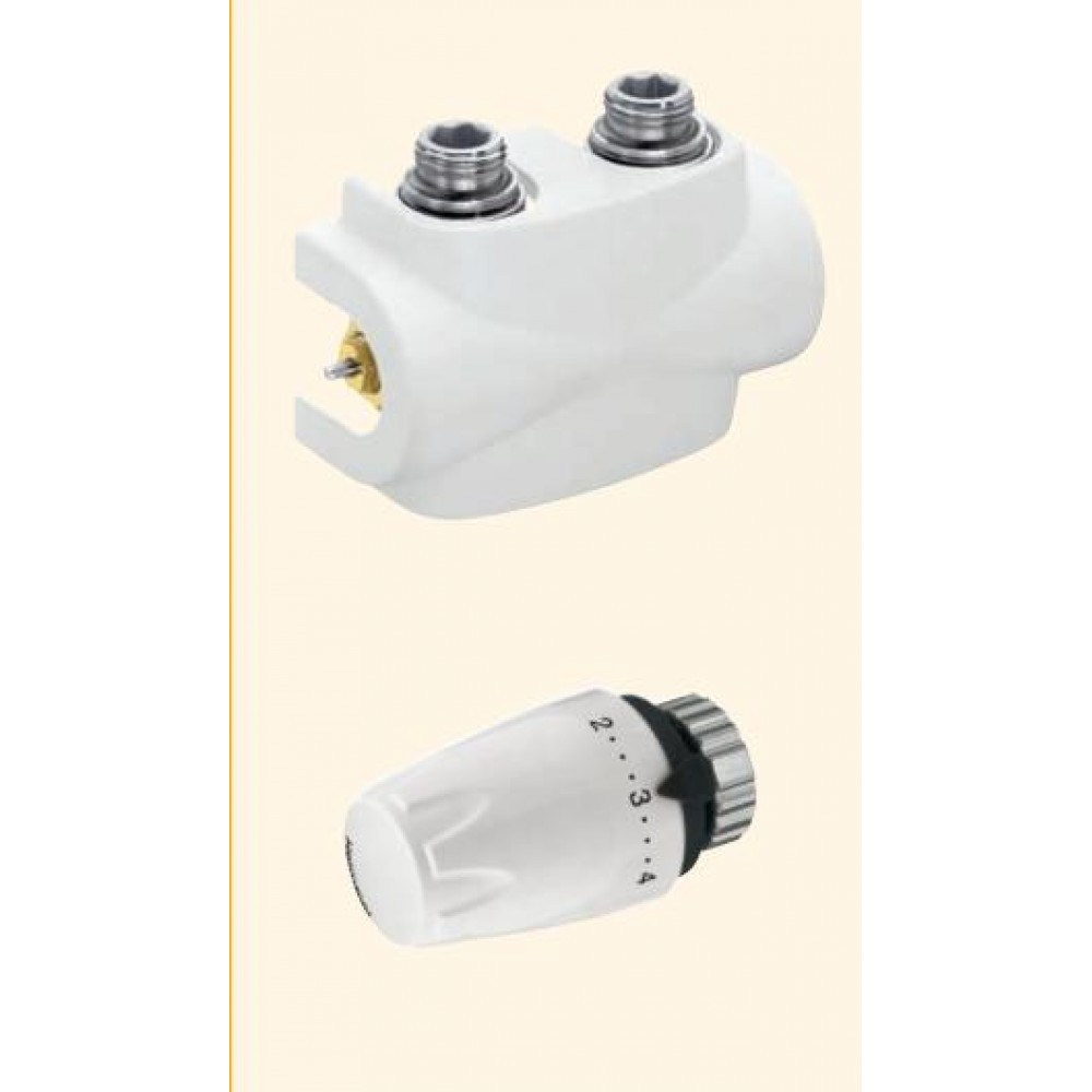 heimeier design edition multilux 4 set for 2 pipe system white ral 9690. Black Bedroom Furniture Sets. Home Design Ideas