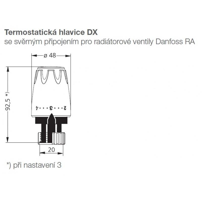 Heimeier dx thermostatkopf anschlussverschraubung vekotec for Heimeier italia