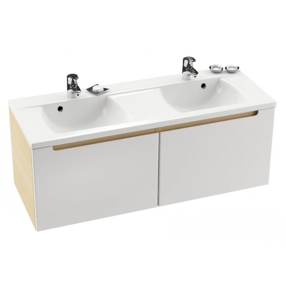 ravak doppel waschbecken classic 1300 xjd01113000. Black Bedroom Furniture Sets. Home Design Ideas