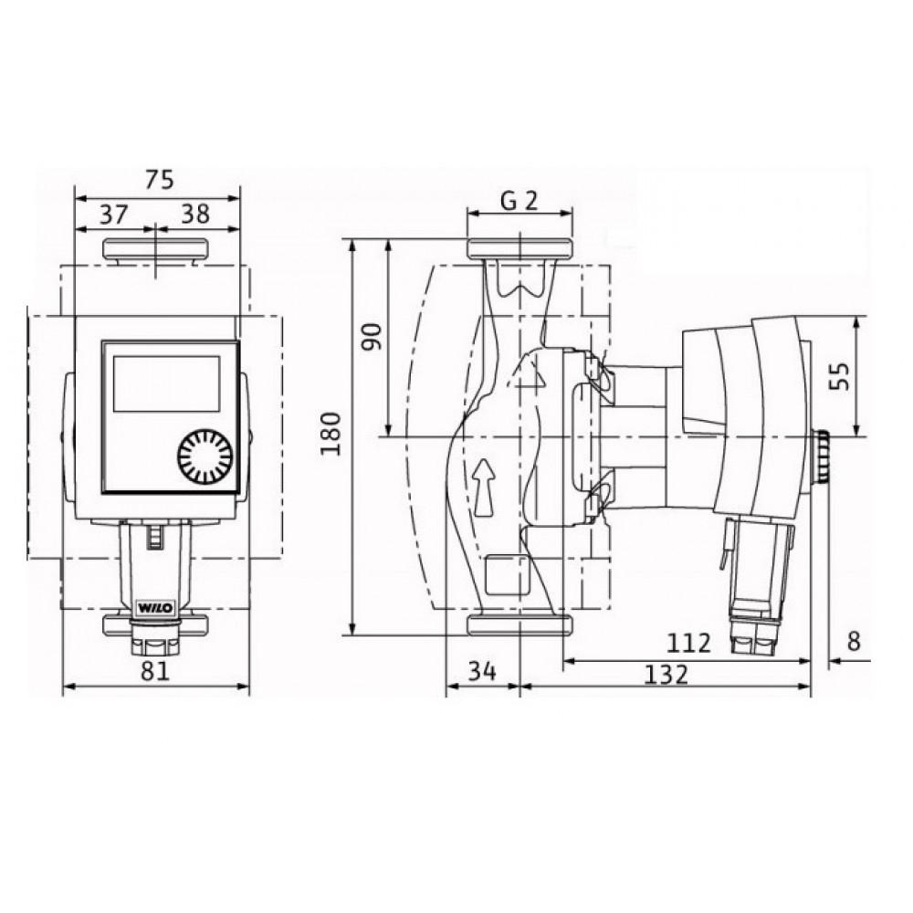 wilo stratos pico 30 1 6 hocheffizienzpumpe heizungspumpe 4132465. Black Bedroom Furniture Sets. Home Design Ideas