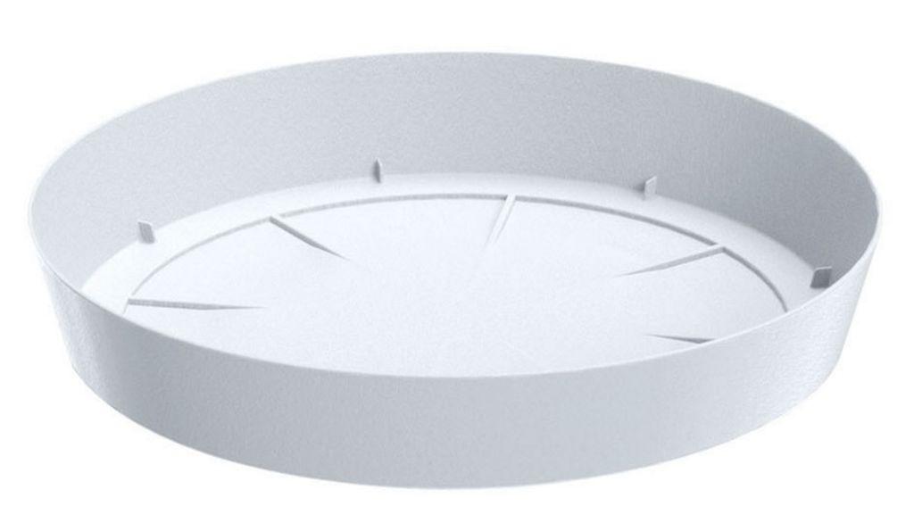 PROSPERPLAST LOFLY Untersatz rund 10,5 cm weiß PPLF105 PPLF105-S449